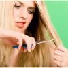 Як вилікувати тьмяні слабкі посічене волосся